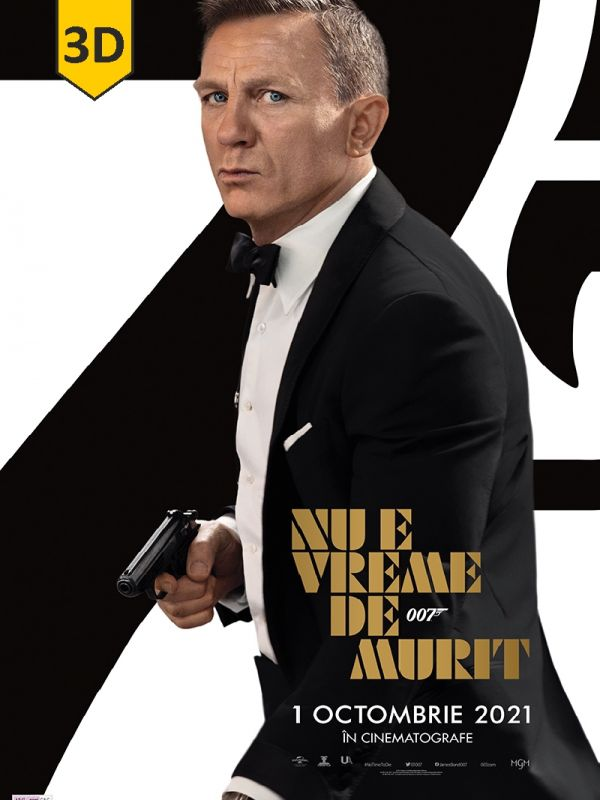James Bond 007: No Time to Die 3D