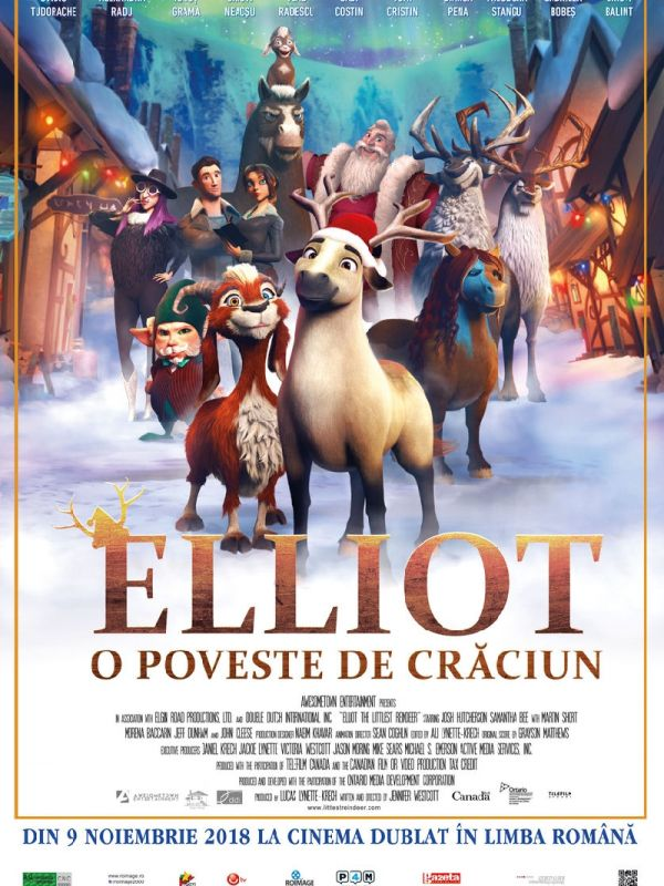 Elliot the Littlest Reindeer DUB
