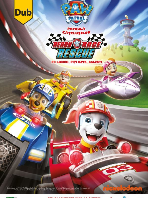 Paw Patrol: Ready, Race, Rescue DUB