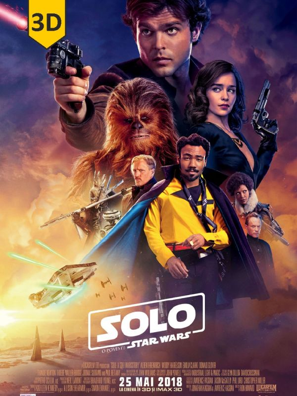 Solo: A Star Wars Story 3D SUB