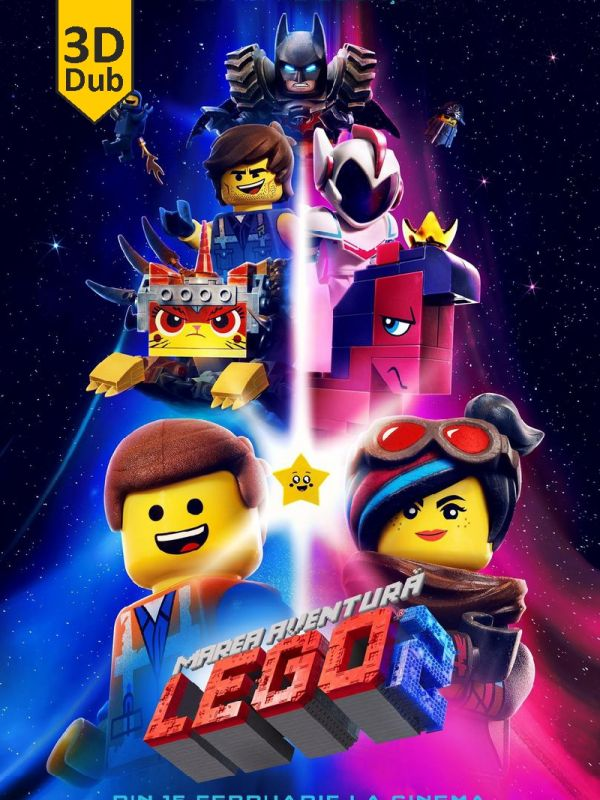 The Lego Movie 2: The Second Part 3D DUB