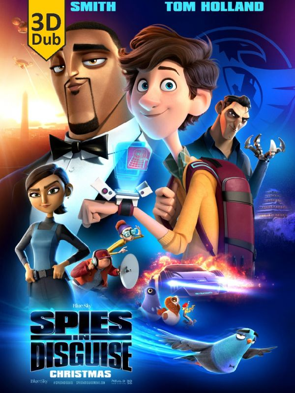 Spies in Disguise 3D DUB