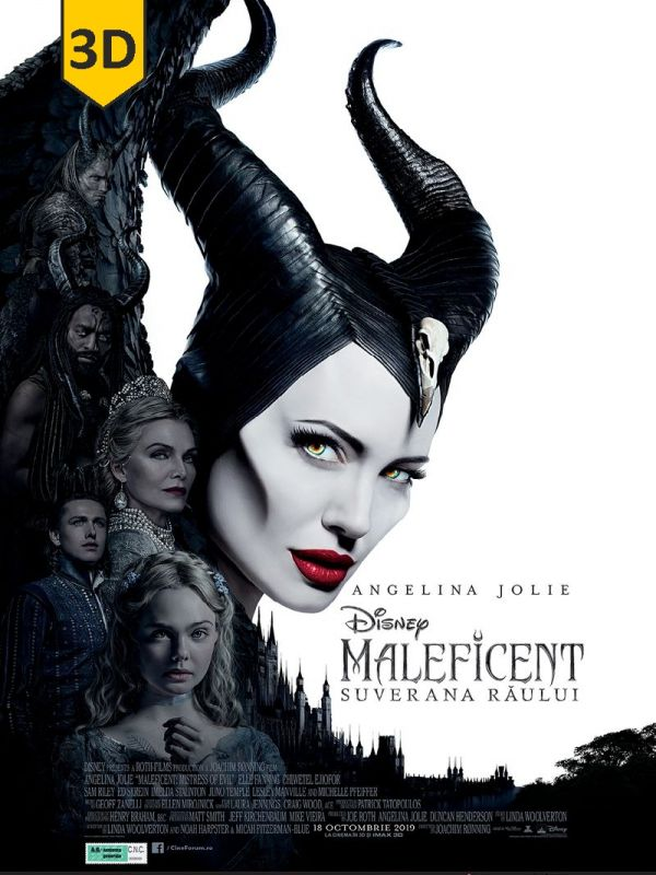 Maleficent: Mistress of Evil 3D SUB