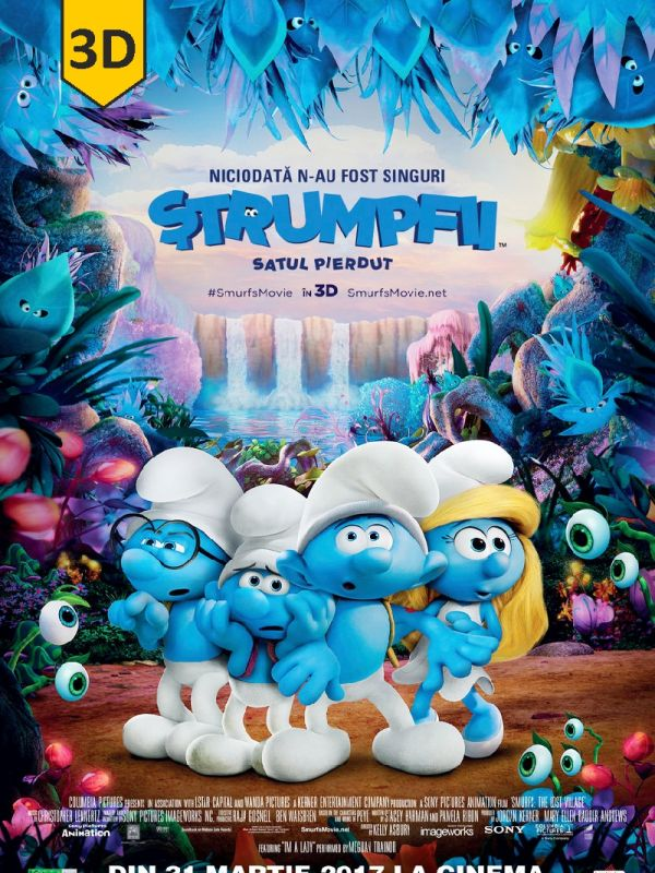 Smurfs: The Lost Village 3D SUB