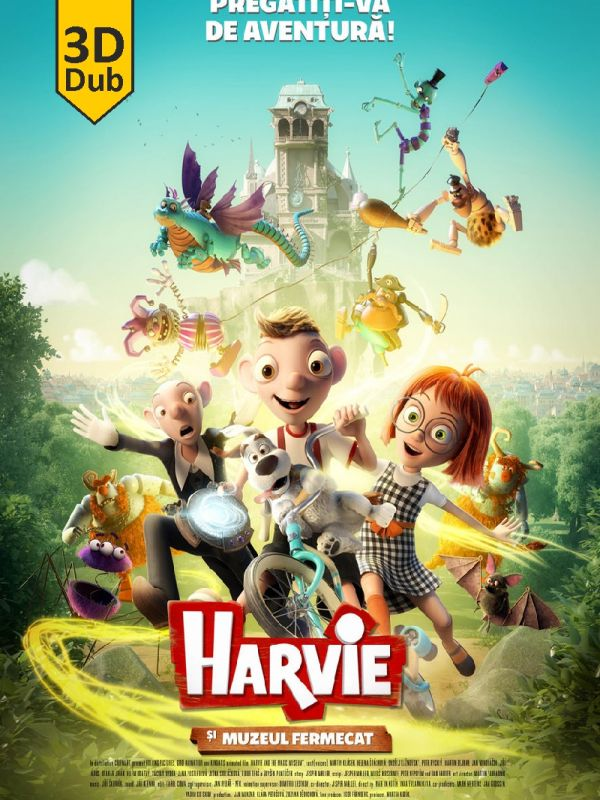 Harvie and the Magic Museum 3D DUB