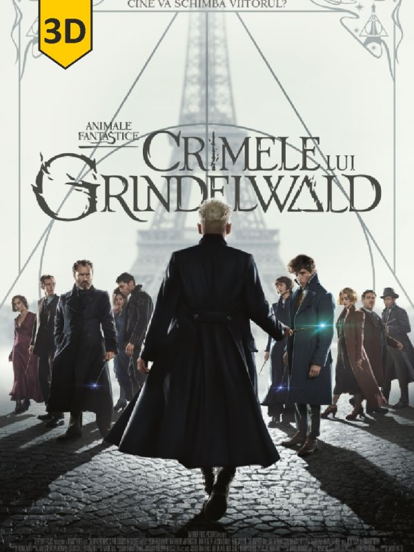 Fantastic Beasts: The Crimes of Grindelwald 3D DUB