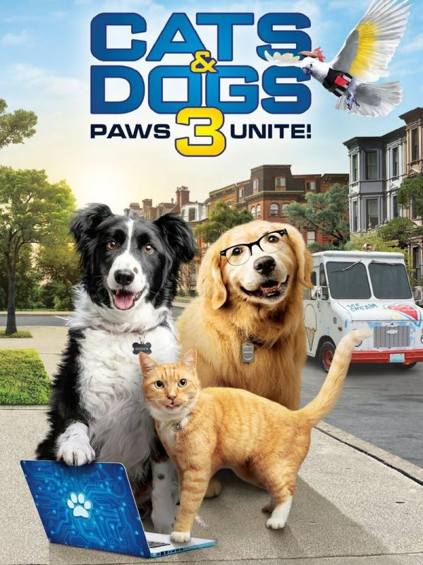 Cats and Dogs 3: Paws Unite SUB