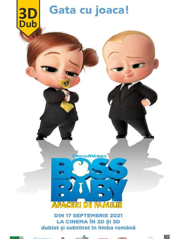 The Boss Baby: Family Business 3D DUB