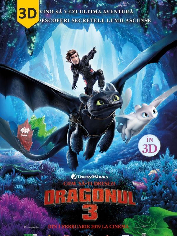 How to Train Your Dragon: The Hidden World 3D SUB