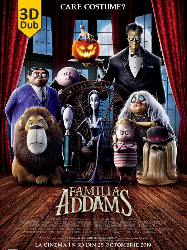 The Addams Family 3D DUB
