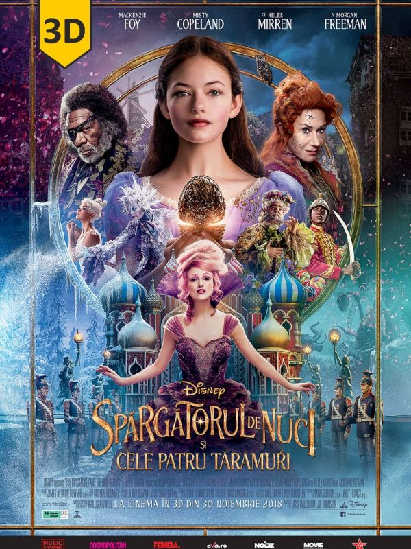 The Nutcracker and the Four Realms 3D SUB
