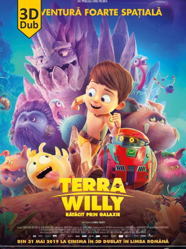 Terra Willy: Planete inconnue 3D DUB